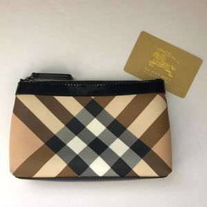 Authentic Burberry Classic Pouch